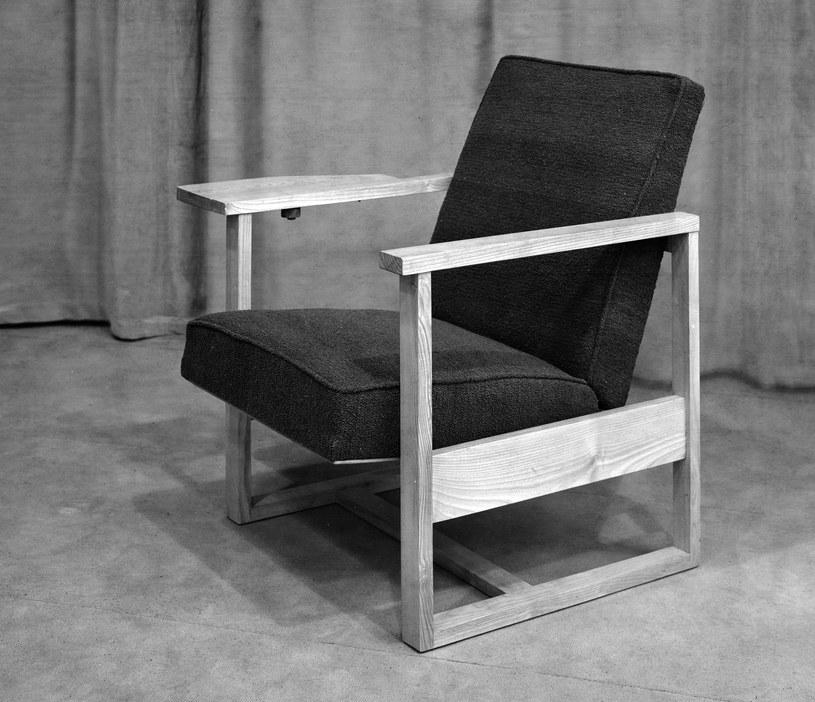 Oto jeden z foteli projektu Mariana Sigmunda /materiały prasowe