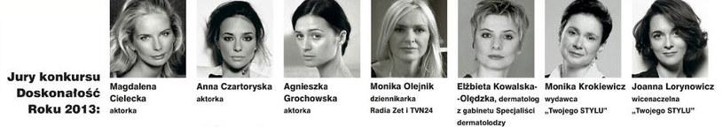 Oto jury konkursu Doskonałość Roku 2013 /Twój Styl
