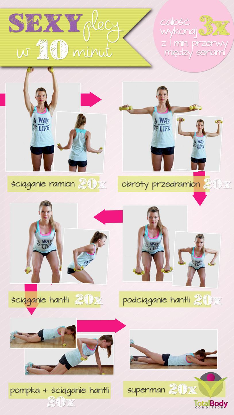 Oto kilka prostych ćwiczeń, które pomogą ci osiągnąć seksowne plecy /123RF/PICSEL