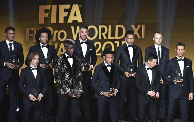Oto najlepsza jedenastka roku (bez Manuela Neuera) /AFP