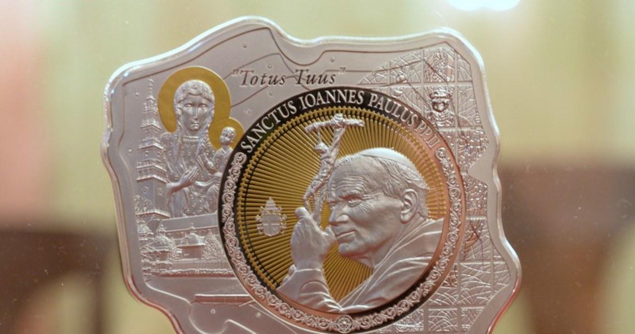 Oto największa moneta z wizerunkiem Jana Pawła II