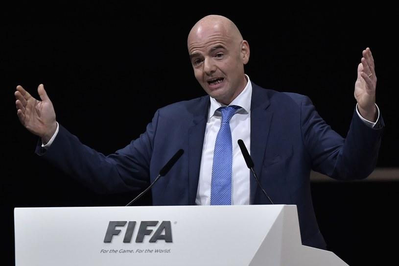 Oto nowy prezydent FIFA /AFP