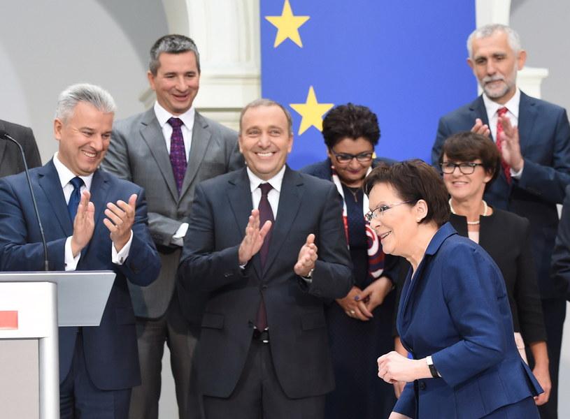 Oto nowy rząd Ewy Kopacz /Radek Pietruszka /PAP