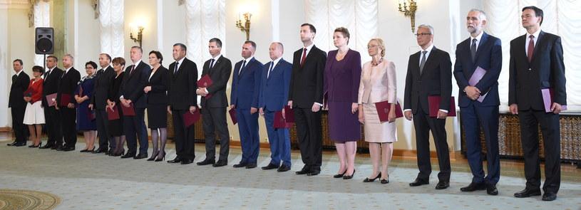 Oto nowy rząd /Radek Pietruszka /PAP