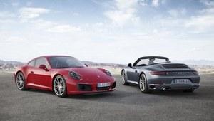 Oto Porsche 911 po face liftingu