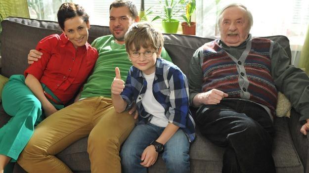 Oto serialowa rodzina, która wyjaśni nam zawiłości ekonomii /TVP