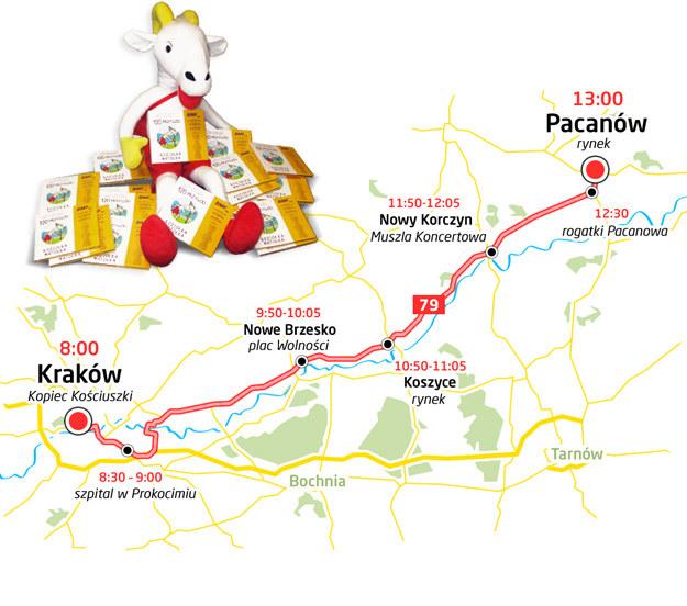 Oto trasa Koziołka Matołka /RMF FM