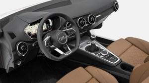 Oto wnętrze nowego Audi TT