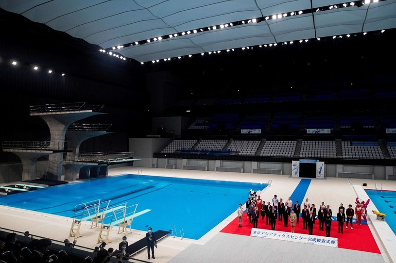 Otwarcie centrum sportów wodnych w Tokio /AFP