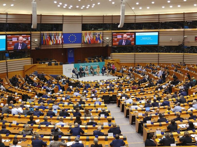 Otwarcie Europejskiego Tygodnia Regionów i Miast w Parlamencie Europejskim w Brukseli /