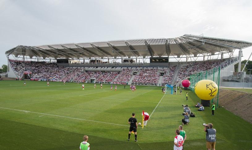 Otwarcie nowego stadionu w Łodzi /Fot. Grzegorz Michałowski /PAP