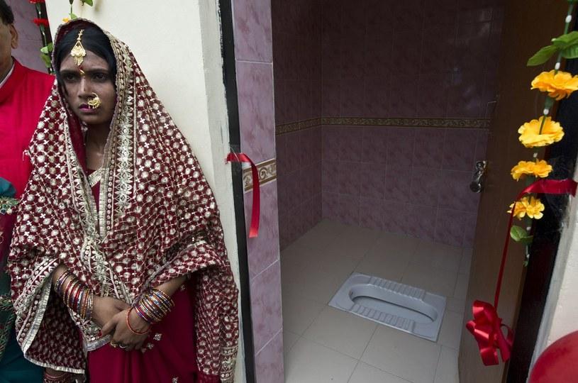 Otwarcie nowej toalety było huczne /AFP