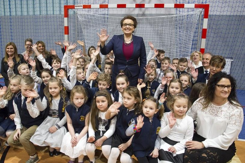 Otwarcie sali gimnastycznej przy szkole podstawowej; zdj. ilustracyjne /Wojciech Stróżyk /Reporter
