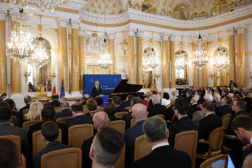 Otwarcie uroczystych obchodów 30-lecia Krajowej Rady Sądownictwa / Radek Pietruszka   /PAP