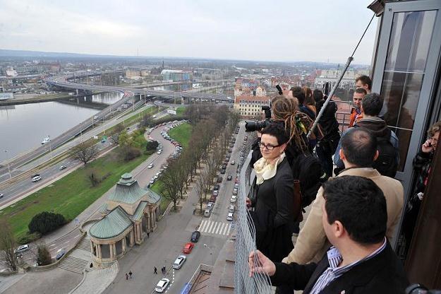 Otwarcie wyremontowanej wieży Gmachu Głównego Muzeum Narodowego w Szczecinie/fot. M. Bielecki /PAP