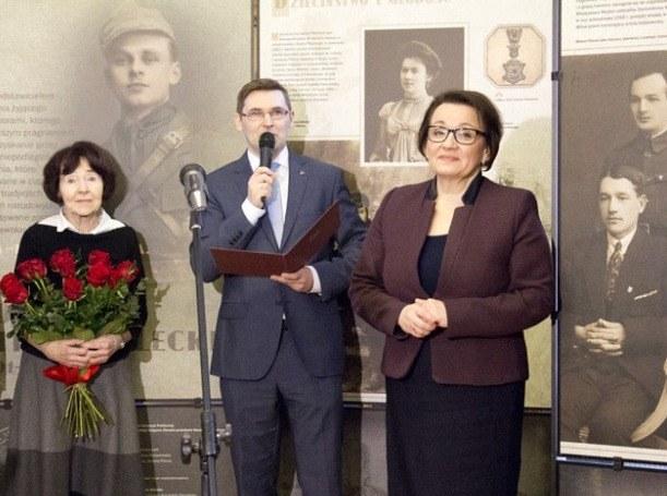 """Otwarcie wystawy """"Rotmistrz Witold Pilecki 1901-1948"""" /men.gov.pl /"""