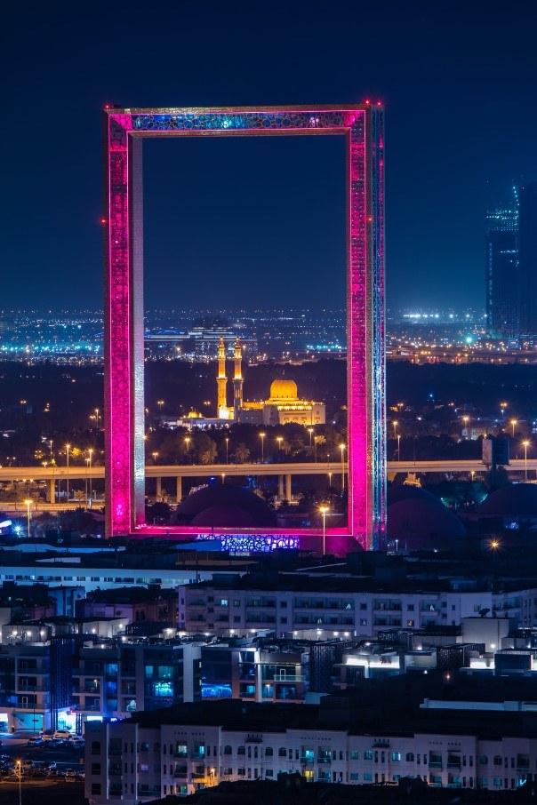 Otwarta w 2018 roku  Dubai Frame pozwala podziwiać miasto z wysokości 150 m /materiały prasowe