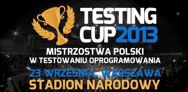 Otwarte Mistrzostwa Polski w Testowaniu Oprogramowania TestingCup 2013 /materiały prasowe