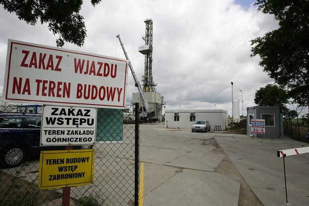 Otwór w Łebieniu wykonywany był na koncesji brytyjskiej firmy Lane Energy Poland /fot. Michał Fludra /Reporter