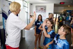 Otylia Swim Cup w Gliwicach. W imprezie udział wzięło blisko 600 dzieci