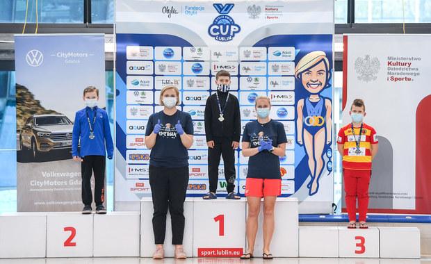 """Otylia Swim Cup w Lublinie rozpoczęty. """"Najważniejsza jest energia, która płynie od dzieci"""""""