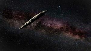 Oumuamua to nie statek obcych