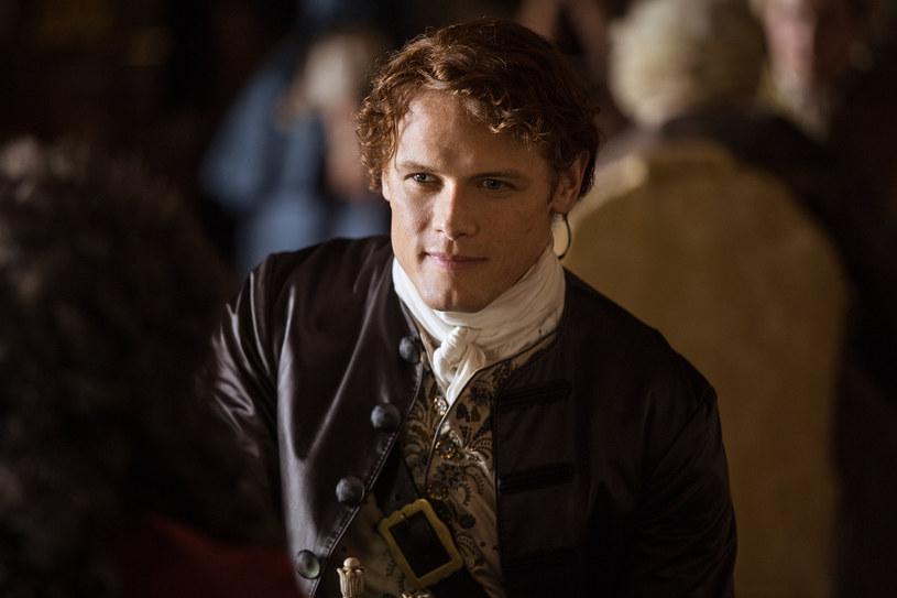 """""""Outlander"""": Jamie Fraser (Sam Heughan) w drugim sezonie /AXN"""