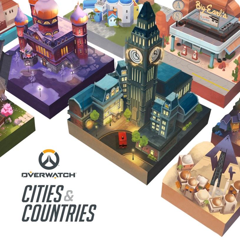 Overwatch: Cities & Countries /materiały prasowe