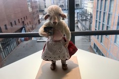 Owca Sylwia i ćma akrobatka. Wystawa lalek animacyjnych w Łodzi