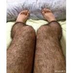 Owłosione nogi - straszak na zboczeńców