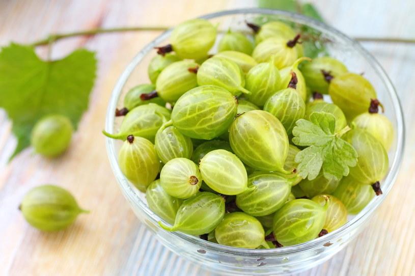 Owoce agrestu są zielone, żółte lub czerwone z rumieńcem /123RF/PICSEL