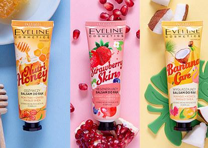 Owocowe balsamy do rąk Eveline Cosmetics /INTERIA/materiały prasowe