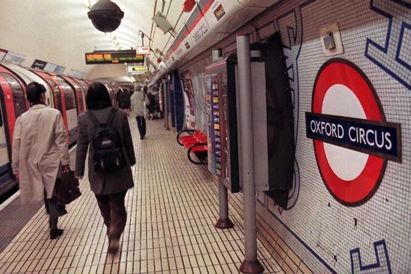 Oxford Circus to najbardziej ruchliwa stacja metra /AFP