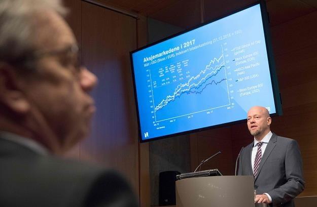 Oystein Olsen, prezes Norges Bank /AFP