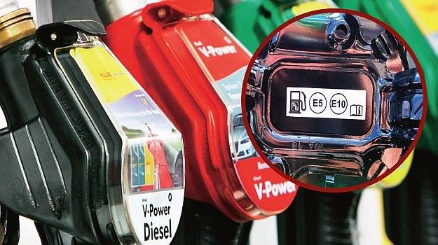 oznaczenia paliw /Motor