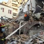"""""""Oznaki życia"""" w ruinach domu miesiąc po eksplozji w Bejrucie"""