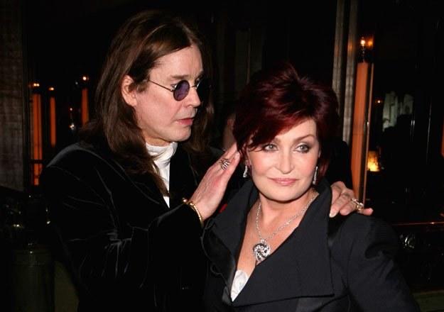 Ozzy i Sharon Osbourne fot. Tim Whitby /Getty Images/Flash Press Media