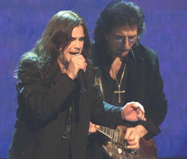 Ozzy Osbourne i Tony Iommi w 2001 roku - fot. Kevin Winter /Getty Images/Flash Press Media