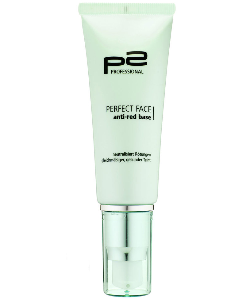 P2 perfekcyjna baza pod makijaż przeciw zaczerwienieniom perfect face /Styl.pl/materiały prasowe