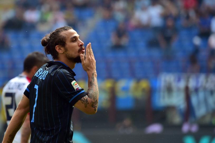 Pablo Daniel Osvaldo w barwach Interu /GIUSEPPE CACACE /AFP