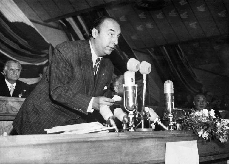 Pablo Neruda /AFP