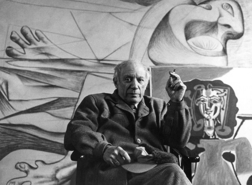 Pablo Picasso /Sanford Roth /East News