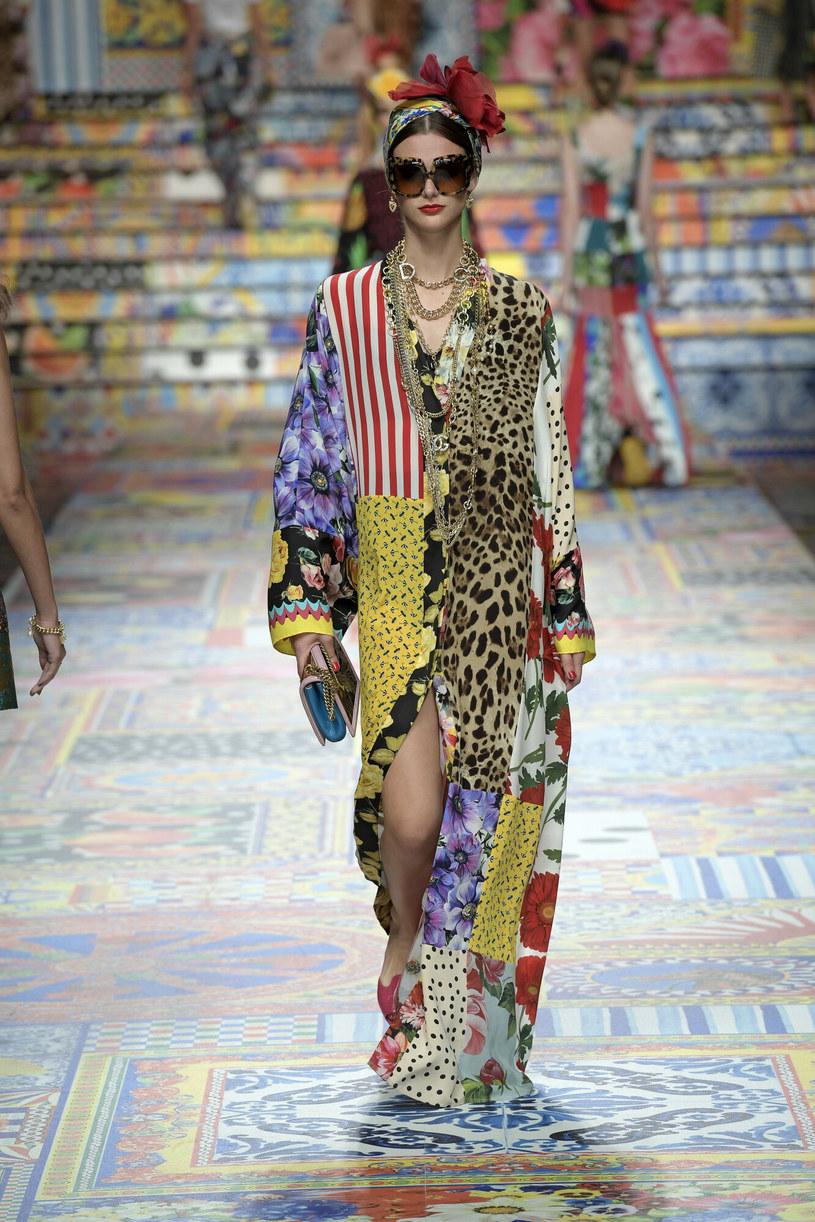 Pachwork od Dolce&Gabbana /East News/ Zeppelin