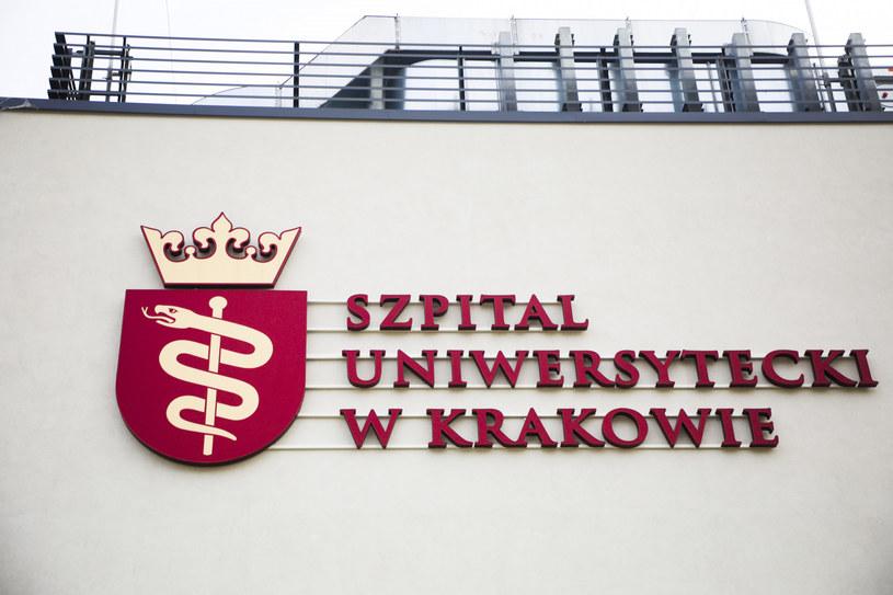 Pacjent z podejrzeniem zakażenia koronawirusem trafił na oddział zakaźny Uniwersyteckiego Szpitala Klinicznego w Krakowie /Beata Zawrzel/REPORTER /Reporter