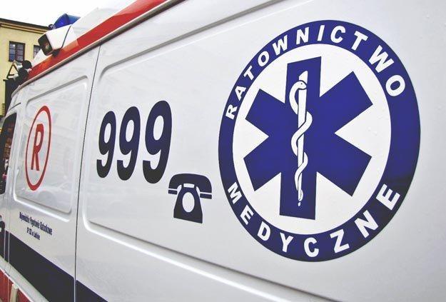 Pacjent z Sieradza został przewieziony do szpitala w Łodzi /RMF