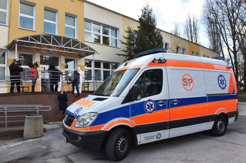 Pacjent zero opuścił szpital /Tomasz Gawalkiewicz /Agencja FORUM