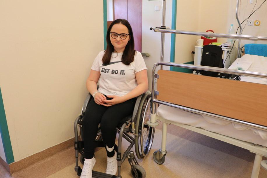 Pacjenta liczy, że zabieg ułatwi jej życie /Józef Polewka /Józef Polewka, RMF FM