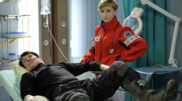 Pacjentem Niny (Agnieszka Judycka) będzie... Maciej Maleńczuk / fot. Gałązka /AKPA