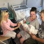 Pacjentka, która po ciężkim udarze urodziła córkę, wraca do zdrowia