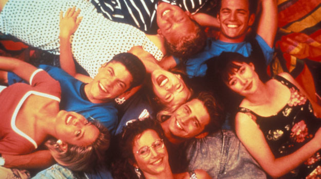 """Paczka z """"Beverly Hills, 90210"""" /CBS Drama /materiały prasowe"""